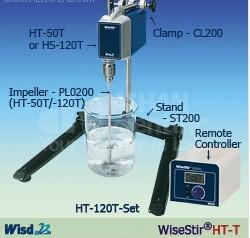 数显顶置式电子搅拌器, 高粘度,分体式